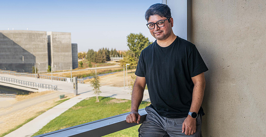 Professor Ahmed Sabbir Arif's lab is contributing to a new form of communication that could people whoare not able to audibly express themselves.
